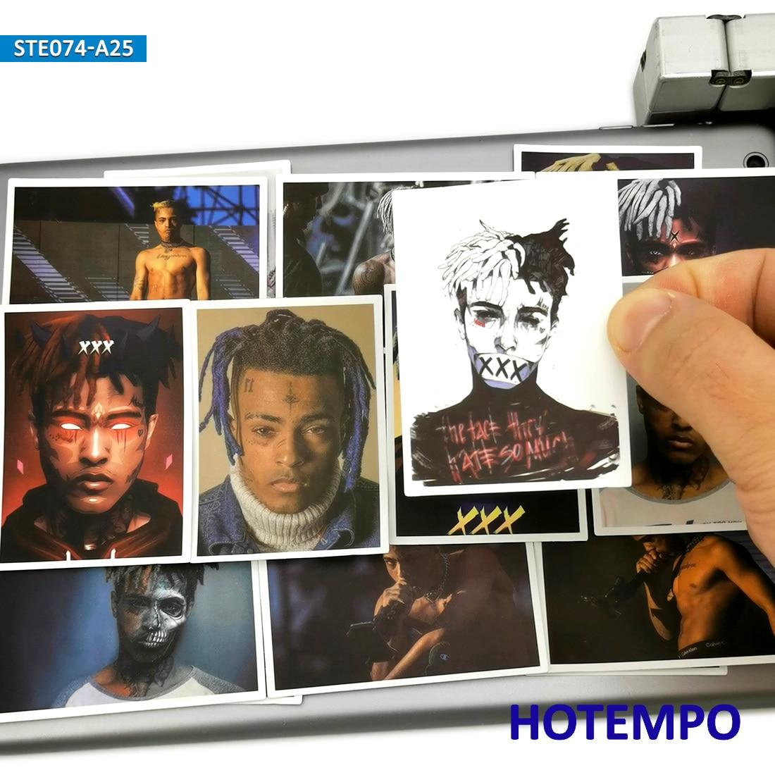25pcs Xxxtentacion Poster Sticker