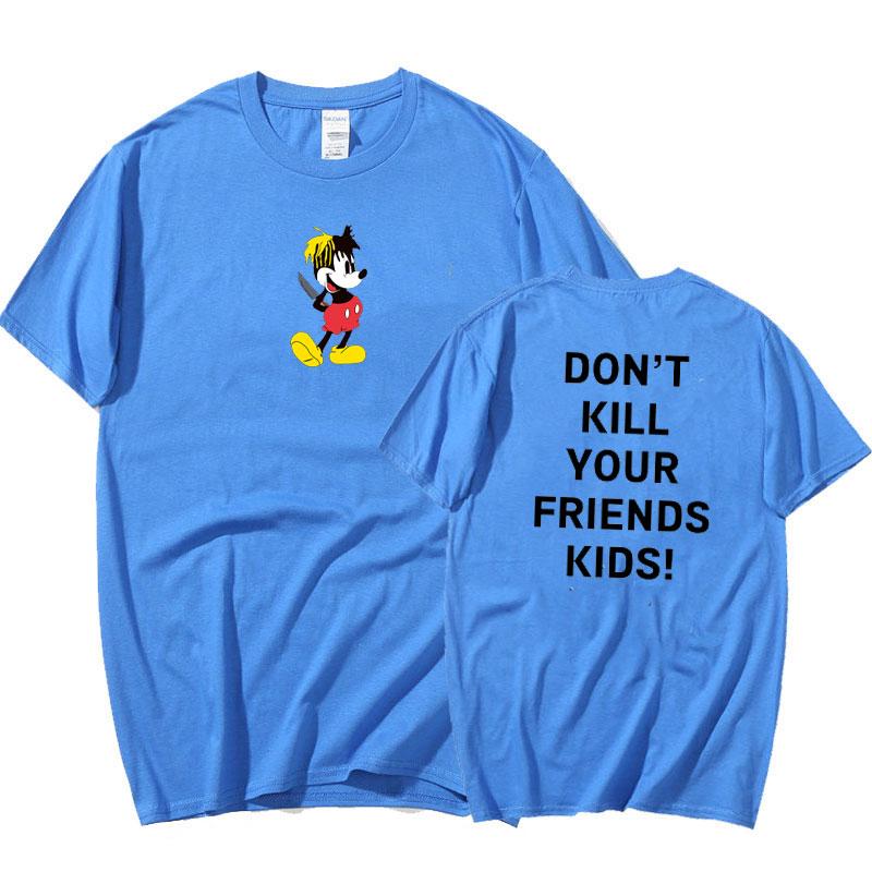 DON'T KILL YOUR FRIEND'S KIDS Print T-Shirts