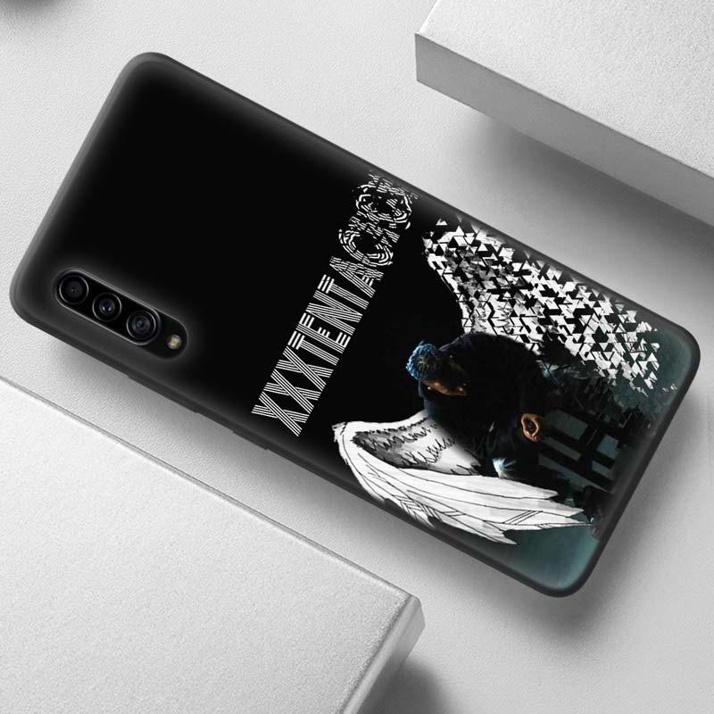 Rap Singer XXXTentacion Case for Samsung Galaxy A50 A90 A80 A70 A60 A40 A30 s A20e A20 A10 A7 A9 2018 Black Soft Phone Cover Bag
