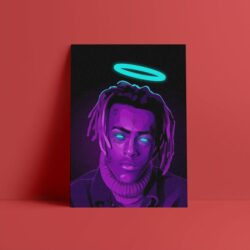 Xxxtentacion Canvas Wall Art Poster