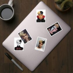 25Pcs XXXTentacion Luggage Stickers