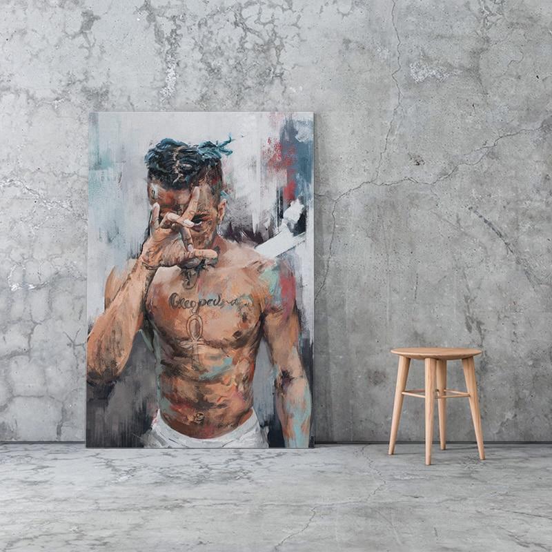 XXXTentacion Rapper Wall Art Painting