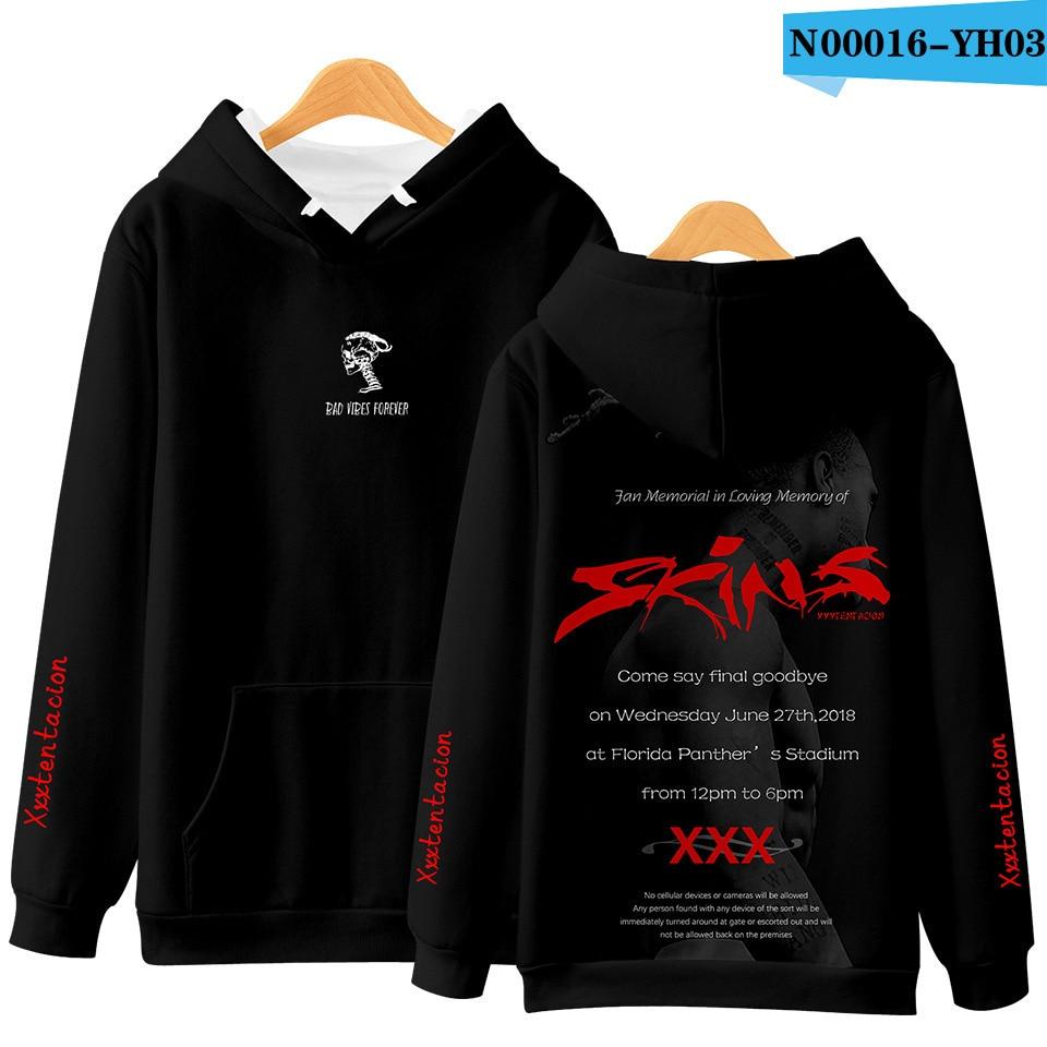 XXXTentacion 3D Printed Fashion Hoodie