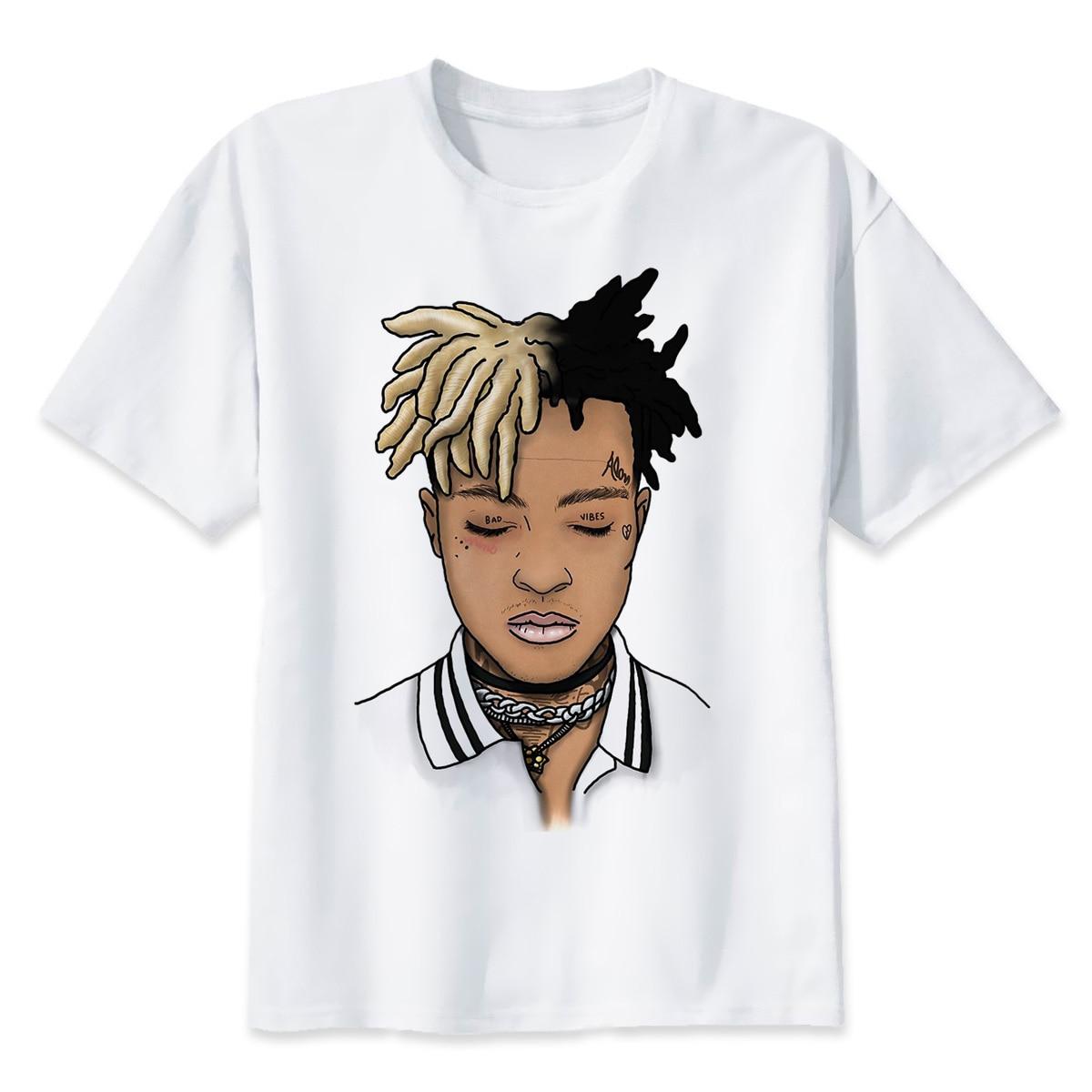 Xxxtentacion O-neck Printed T-Shirt