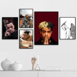 XXXTentacion Rapper Wall Artwork Painting