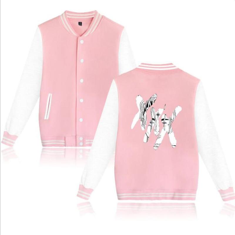 XXXTentacion College Baseball Uniform Jacket