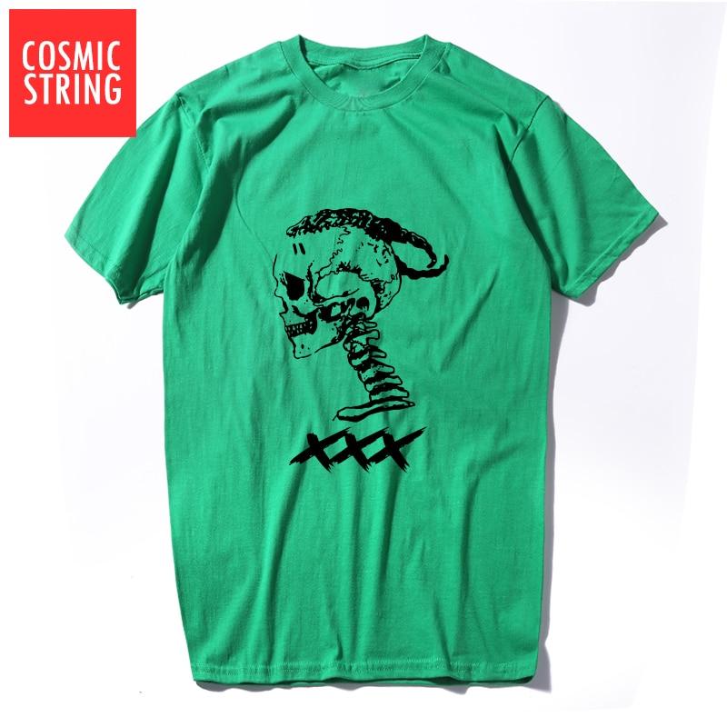 Xxxtentacion Cool Skull Printed T-shirt