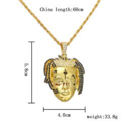 XXXTentacion Singer Face Necklaces & Pendants