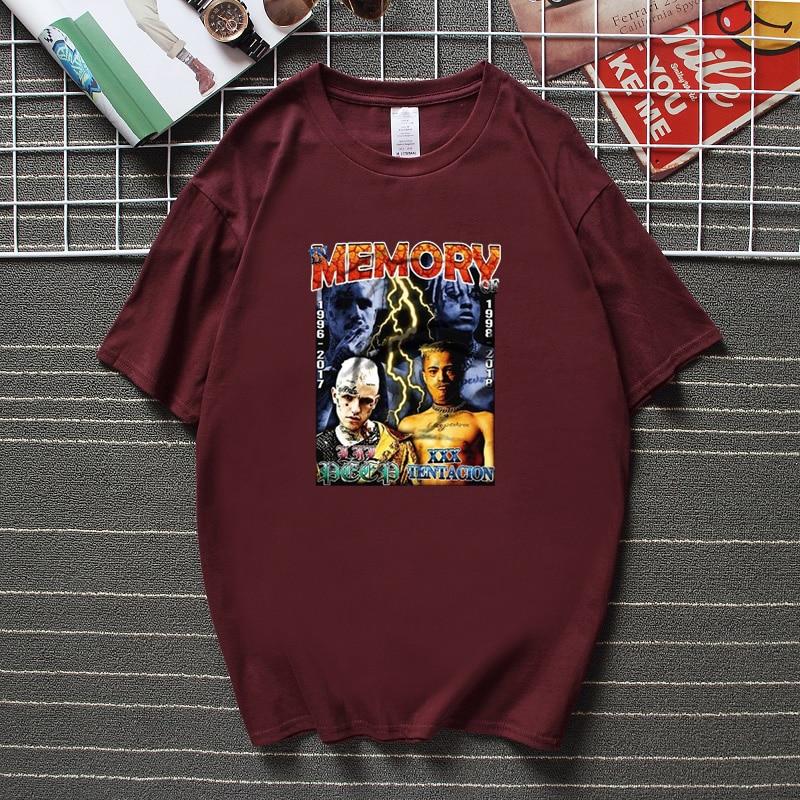 LIL PEEP & XXXTENTACION Memory T-shirt