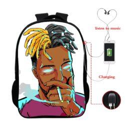Xxxtentacion Printed Backpack