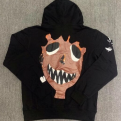 High-quality Graffiti Pullover Hooded